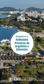 CAU - Atribuições Privativas de Arquitetos e Urbanistas