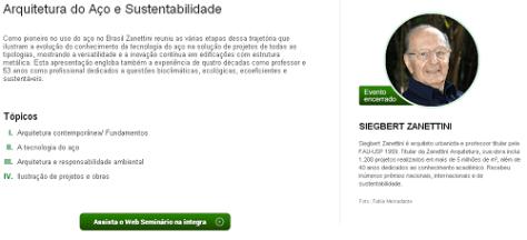 E-construmarket :: Arquitetura do Aço e Sustentabilidade