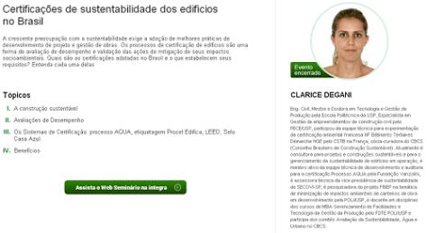 E-construmarket :: Certificações de sustentabilidade dos edifícios no Brasil