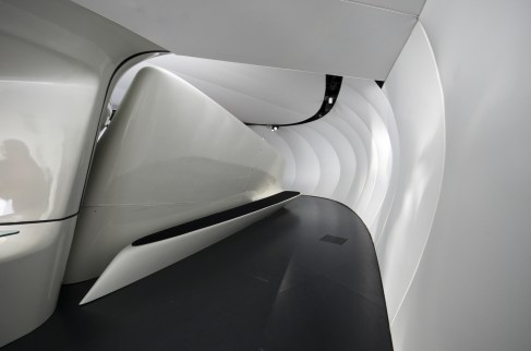 Mobile Art Pavilion - Zaha Hadid (video)