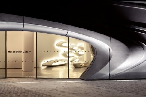 Roca London Gallery - Zaha Hadid Architects