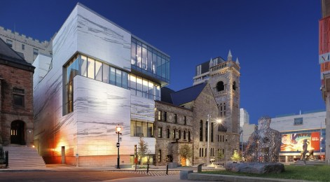Claire and Marc Bourgie Pavilion of Quebec and Canadian Art - Provencher Roy + Associés Architectes