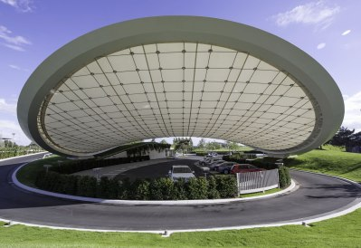 Autostadt Roof and Service Pavilion - Graft Architects