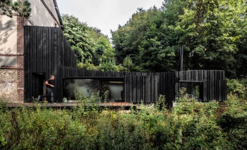 Black Wood House - Marchi Architects