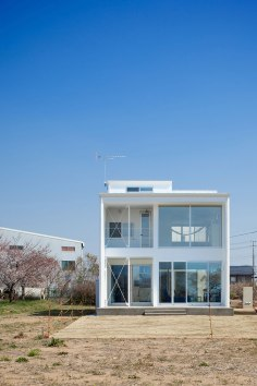 The House Reflecting Ripples - Kichi Architectural Design