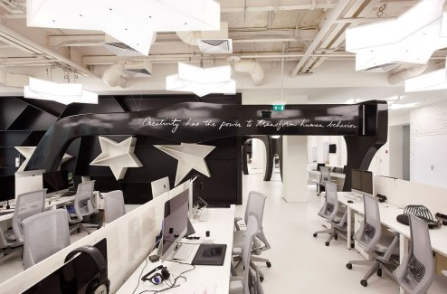 Leo Burnett Moscow - Nefa Architects