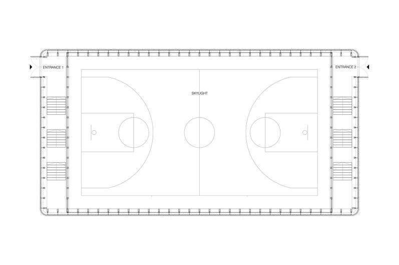 Matchbox Elementary School Sports Hall - Jovan Mitrović