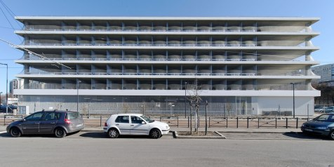 Edificio de Estacionamiento en Grenoble - GaP Architectes