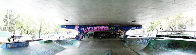 San Cosme, skatepark by Anonima