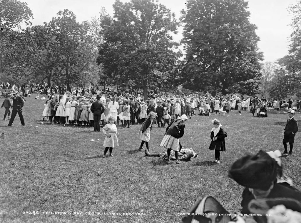 Children's Day, Central Park, New York, ca. 1905
