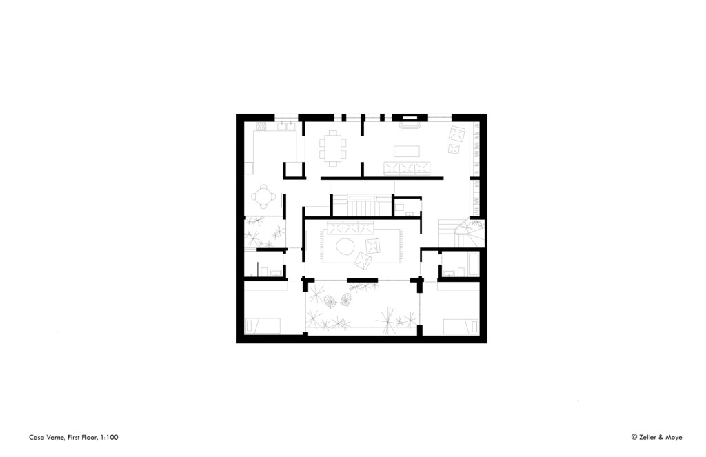 Casa Verne_Zeller & Moye_First Floor_©Zeller & Moye
