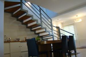 dos estilos de escaleras