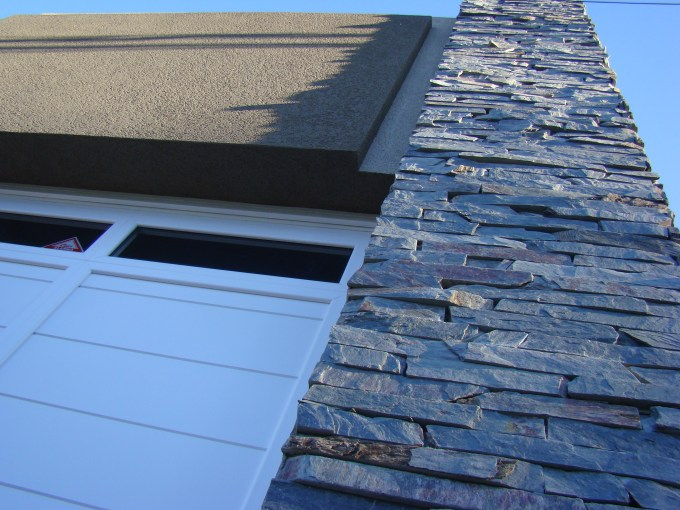 revestimiento plástico para paredes exteriores