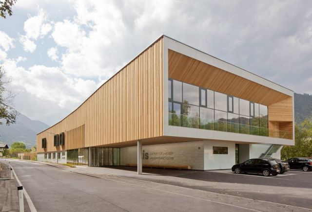 arquitectura con madera CLT_CIS