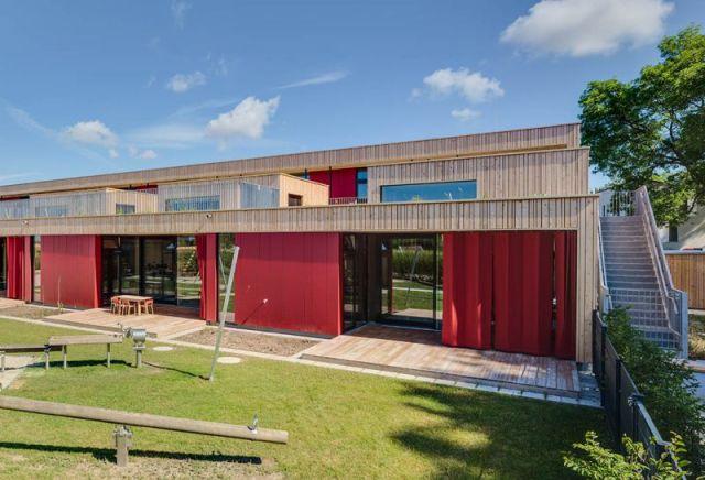 arquitectura con madera CLT_Nursery School Dietersheim