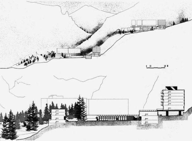 arquitectura Marcel Breuer Flainerevista informes de la contruccion secciones