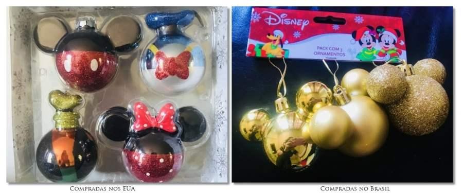 Planejando a viagem à Disney.