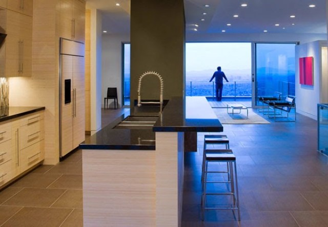 cocina H-House / Axis Architects, Utah