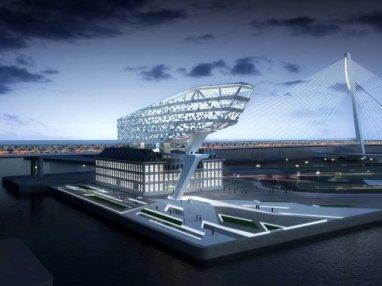 Nuevo corporativo para el Puerto de Antwerp - Zaha Hadid