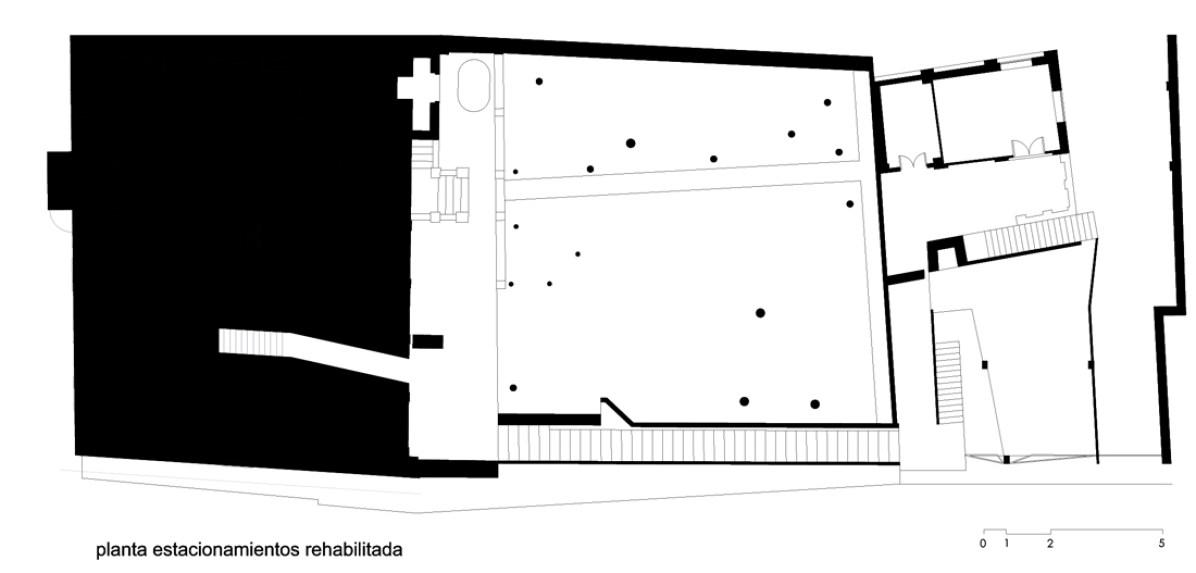 Planta Arquitectonica Estacionamiento