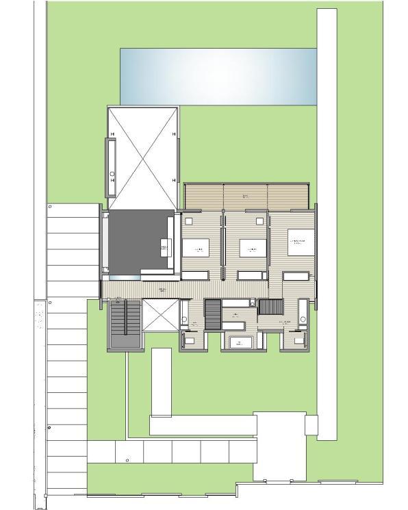 """Casa en """"A-Zapateira"""" – a.f. abeijón-fernandez arquitectos / Planta Primer Nivel"""