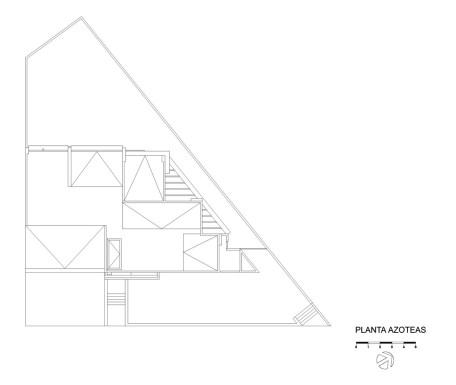 Casa E - Agraz Arquitectos / Planta Azotea