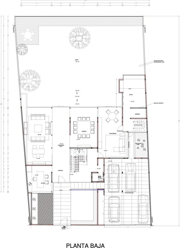 Casa AP - DIN Interiorismo / Planta Baja