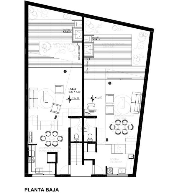 Charlone 1213 - Estudio Nussbaum / Planta Baja