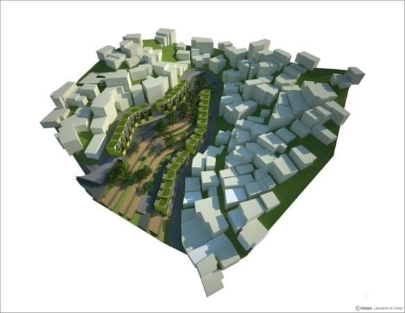 Prototipo doméstico de sustitución ecológico en barrio de conformación paulatina - Distopía - Laboratorio de Ciudad