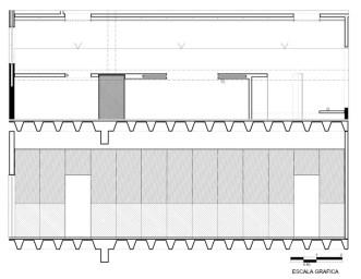Oficinas ACBC - Pascal Arquitectos / Pasillo Principal de Oficinas