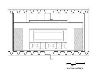 Oficinas ACBC - Pascal Arquitectos / Alzado Sala de Juntas