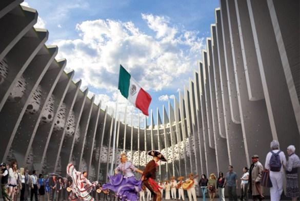 Pabellón de México Expo Shanghai 2010 – Bunker Arquitectura