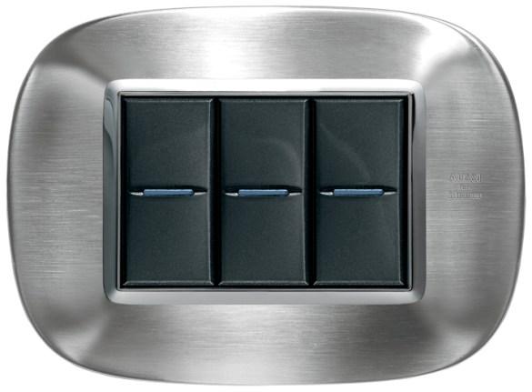 Líneas más suaves en el diseño elíptico en Aluminio Axolute