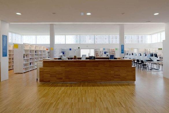 Biblioteca Pública Ángel González - riaño + arquitectos