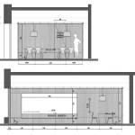 Oficina de ventas Agüero - Unoencinco Arquitectos