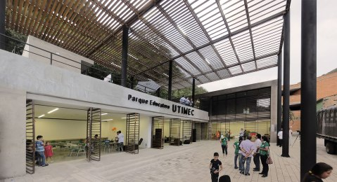 Parque Educativo Uramita - FP arquitectura