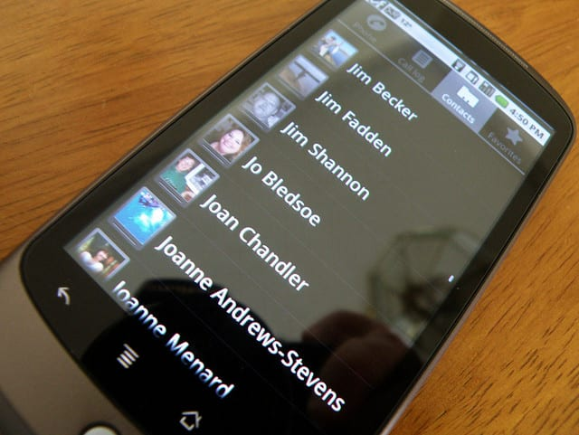 Restaurar contatos excluídos acidentalmente do celular no Android