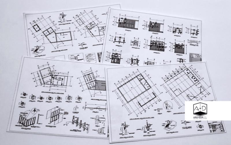Planos Proyecto de Cálculo estructural