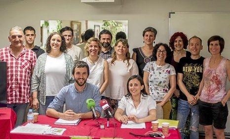 agerraldia. 13-06-2017, Vitoria-Gasteiz. Rueda de prensa sobre política penitenciaria.