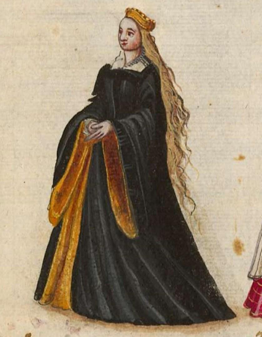 after 1575, Cologne. Fig. 1, ill. 54, Kostüme und Sittenbilder des 16. Jahrhunderts [...] BSB Cod.icon. 361