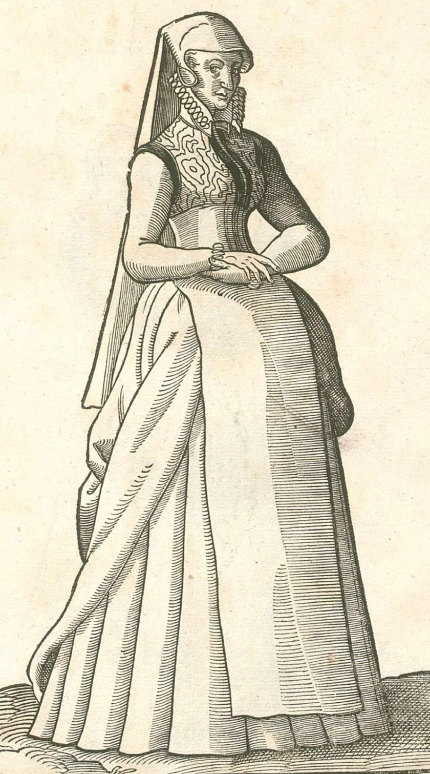 1577 Munster. LXXVIII, Habitus praecipuorum populorum, Hans Weigel. Archive.org, Bavarian State Library