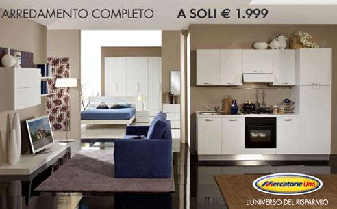 Chiama per informazioni su cucine, soggiorni e camere da letto. Mercatone Uno Presenta La Promozione Arredamento Completo Arredamente