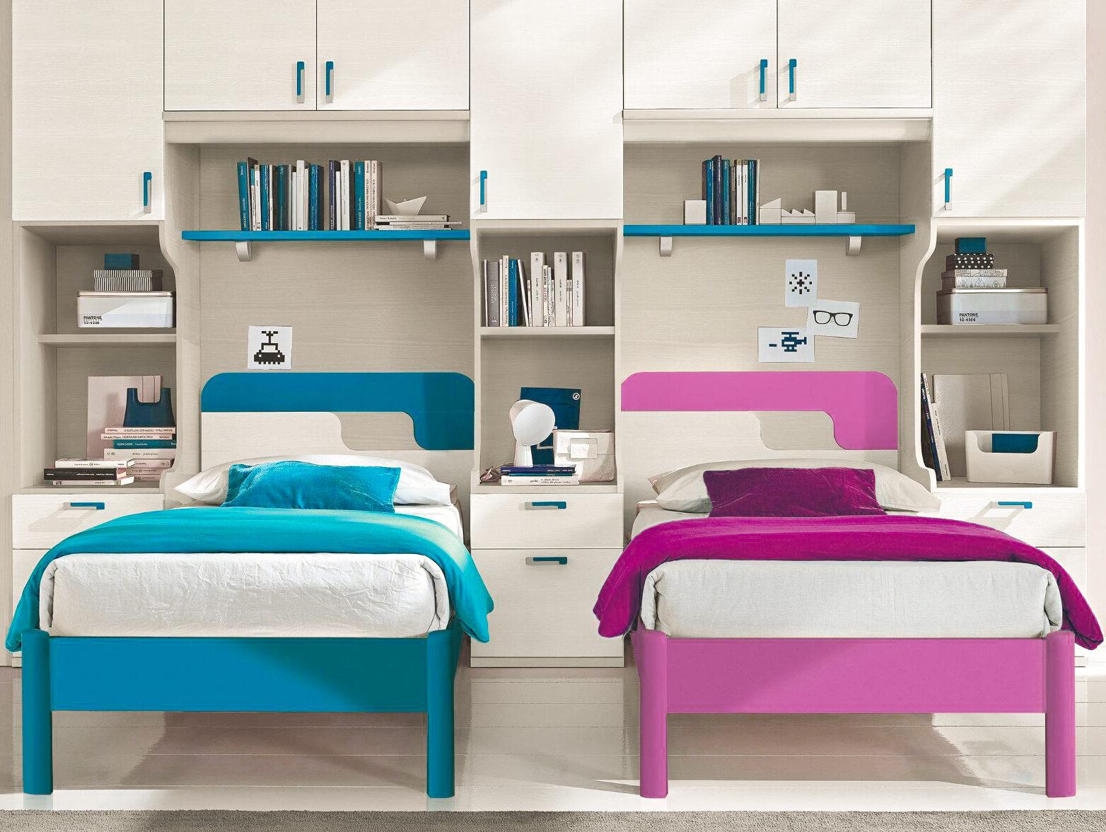 Progettare una camera con tre letti per i propri figli significa utilizzare lo spazio nel miglior modo possibile dando spazio uguale per. Camerette Per Maschi E Femmine Arredare La Stanzetta Condivisa