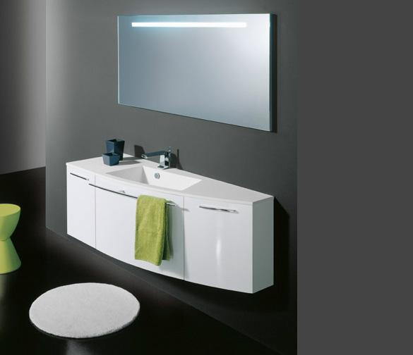 Mobile da bagno stocco arco arredamenti l 39 opera - Mobile bagno asimmetrico ...
