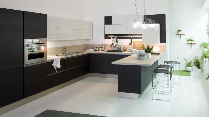Cucina Moderna Veneta Cucine Carrera Go - Arredamenti L\'Opera
