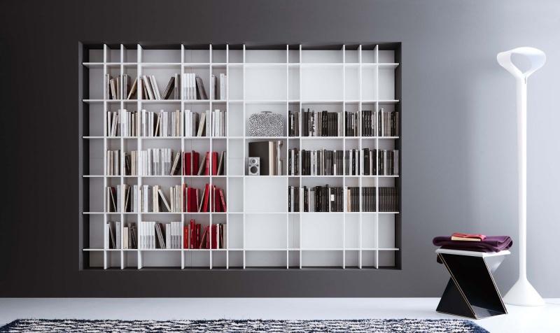 Libreria modulare Novamobili Slim