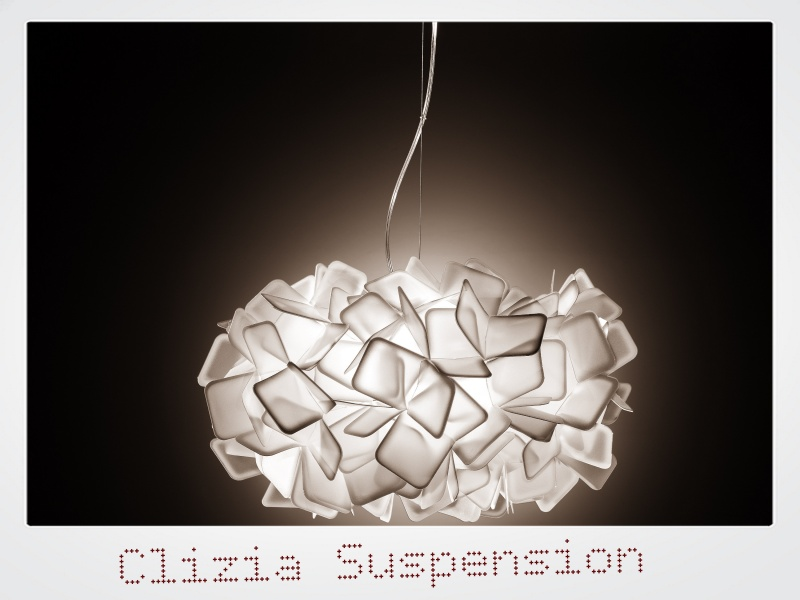 Clizia Suspension Large Fumé