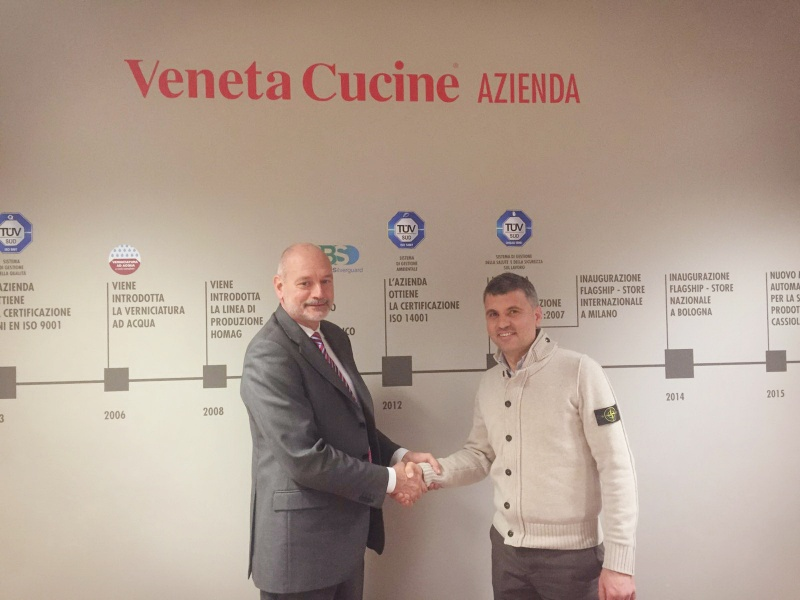 L'Opera incontra Veneta Cucine: intervista a Lucio Corrò.