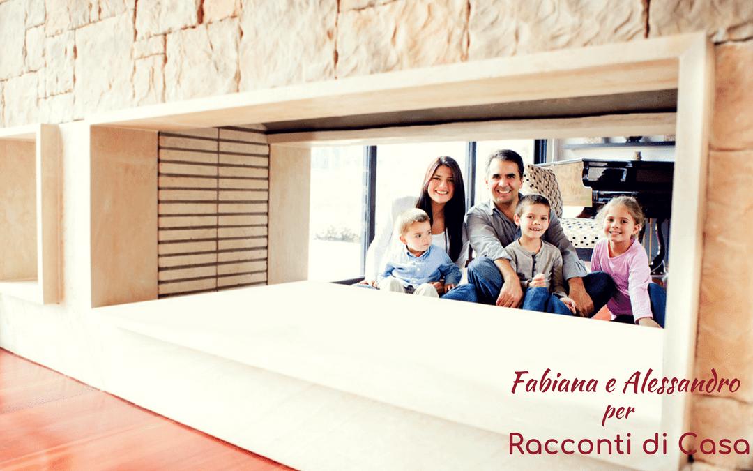 La cucina di Fabiana e Alessandro.