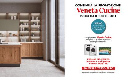 La nuova promozione Veneta Cucine: progetta il tuo futuro.